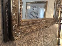 Decorative Antique Silver Wall Mirror - Full range of sizes and frame colours
